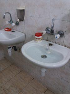 запушен сифон на мивка